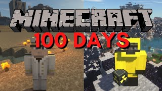 I Survived 100 Days in a NUCLEAR WASTELAND / NUCLEAR BUNKER in Minecraft Hardcore