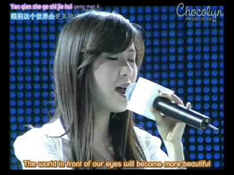 [ENGSUB] 2007.06.16 Samsung Olympics Countdown - Zhang Li Yin - Magic Castle