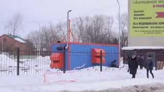 Контейнер УБК-6 с ДГУ 200 кВт, объект Горбольница город Обь, март 2015г.(, 2015-04-01T08:43:57.000Z)