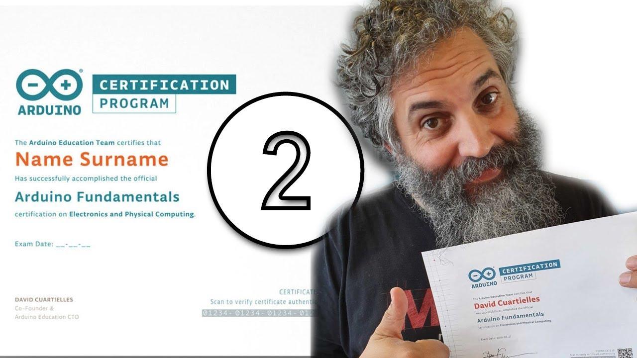 حقيقة اعتماد الاردوينو2/2 Arduino Certification Program