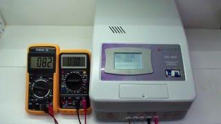 Стабилизатор напряжения Luxeon EW-9000 релейный, обзор, тест, купить