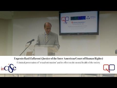 Eugenio Raúl Zaffaroni (Justice of the Inter-American Court of Human Rights)