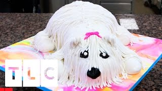 The Cutest Dog Cake Ever | Cake Boss