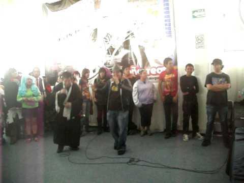 Joakuya Channel en el Karaoke de Ñoño Team (2) en Expo TNT 22