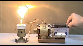 Repeat youtube video Electric motor generator