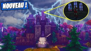 New! Hide Hide in the Haunted Castle! On the New Map! Fortnite Saving the World