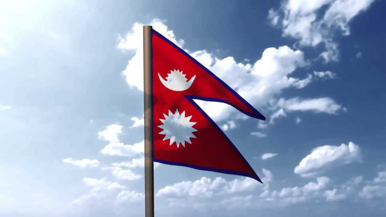 essay about nepal country flag