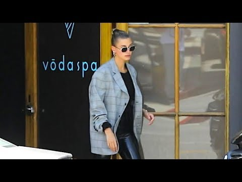 Hailey Baldwin And Justin Bieber Get A Little R&R At The Day Spa
