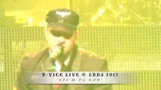 T-VICE LIVE @ THE TERMINAL 5 LNDJ 2013 NEW YORK NEW YORK.