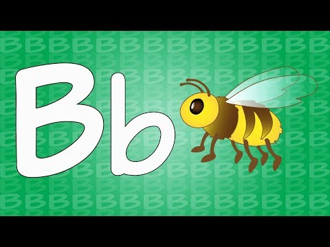 Letter B Song for Kids - Words that Start with B - Animals that Start with B