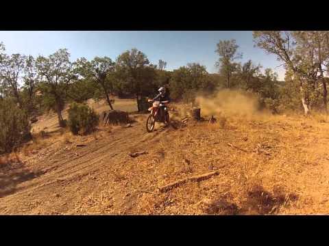 Michael Aranda preps for Endurocross