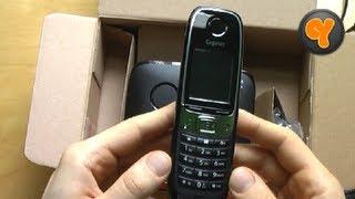 unboxing: Gigaset C620 / C620A Schnurloses DECT Telefon mit Anrufbeantworter