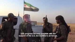 قوة مشتركة تحمي روجآفا من خطر داعش Joint forces protect Rojava from ISIS
