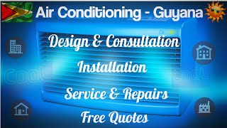 Air-conditioning installation and repair Guyana | air-con maintenance