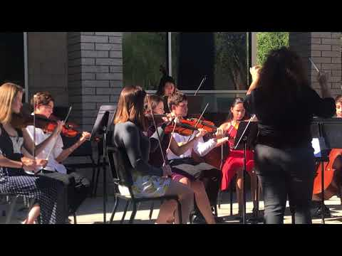 """Bosque School Strings Performs at """"A View of Bosque"""""""