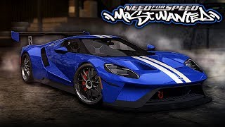 NFS Most Wanted | 2017 Ford GT Mod Gameplay [1440p60]