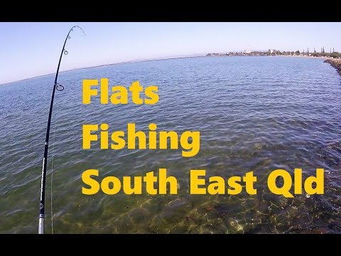 Flats Fishing SE Qld - Multiple Species Caught On Lures And Light Line!
