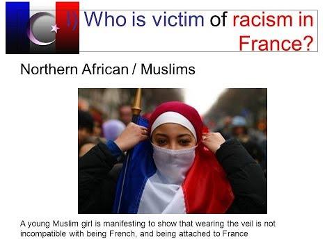 """Muslims not responsible for Djihad, it's the french people !"" SJW - Post-modern ideology propaganda"