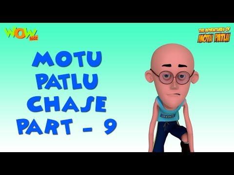 Motu Patlu Chase - Compilation - Part 9 As seen on Nickelodeon
