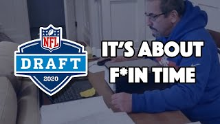 2020 NFL DRAFT - LIVE REACTION Urinating Tree and FivePointsVids