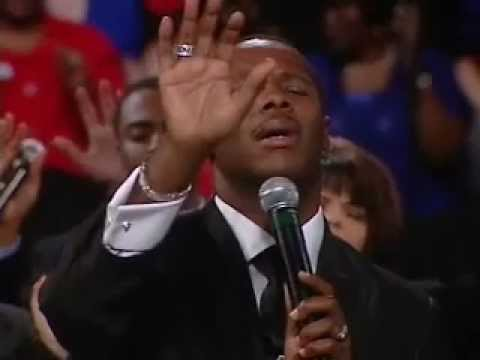 Micah Stampley Ministers at Benny Hinn Crusade - Songs of the Spirit