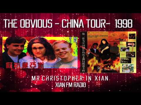 The OBViOUS China Tour 1998: Xian FM: mr christopher Radio Interview