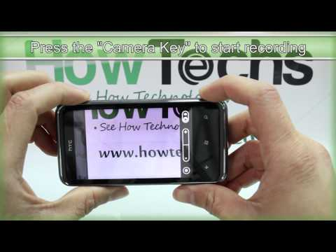 How to Use the Camcorder on HTC 7 Pro