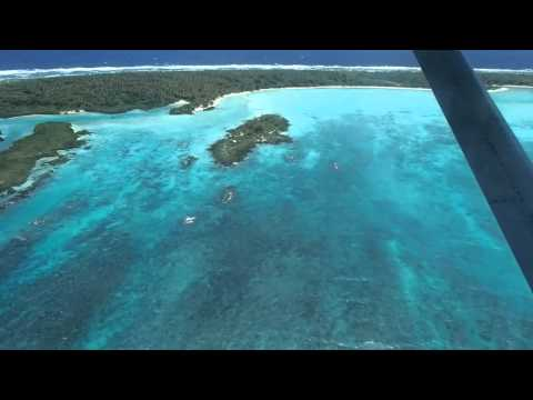 Flying into Aniwa Island