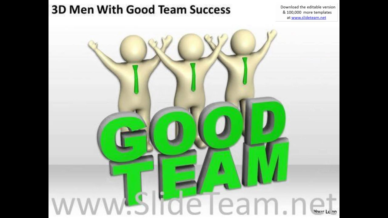 Top business people 3d men with good team success powerpoint top business people 3d men with good team success powerpoint templates presentation infographics sli alramifo Gallery