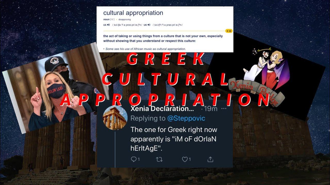 Greek Cultural Appropriation - Molon Labe & Xenia Declaration (Notorious Hellene YoutTube)