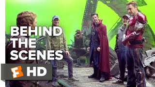 Avengers: Infinity War Behind the Scenes - Visionary Intro (2018) | Movieclips Extras
