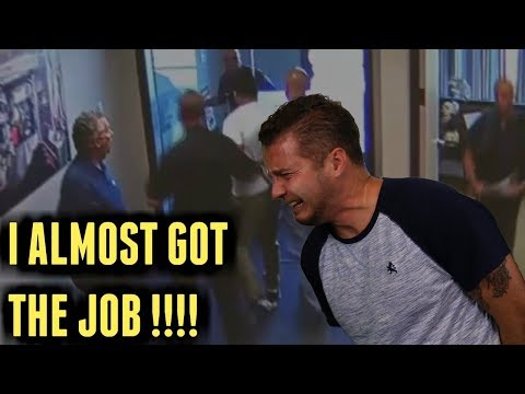 A Police Chase And A Job Interview...