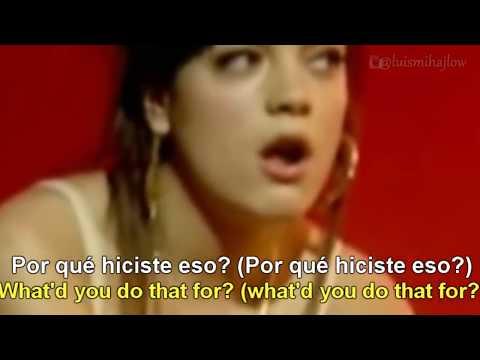 Lily Allen - Smile [Lyrics English - Español Subtitulado]