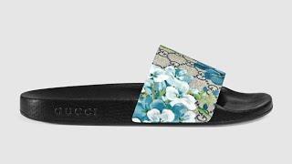 DHgate $34 Gucci Flip Flop Unboxing (seller) Anlia1688