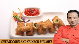 Cheese Corn And Spinach Pocket Recipe With Philips Airfryer By Vahchef