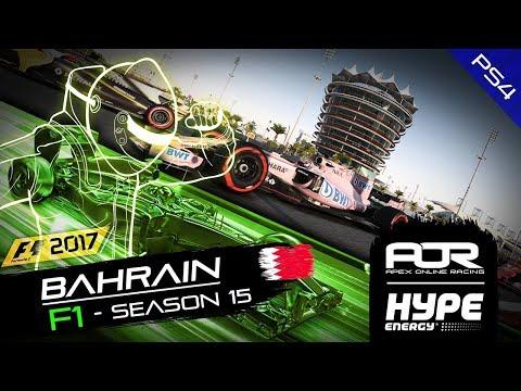 F1 2017 | AOR Hype Energy F1 League | PS4 | S15 | R4: Bahrain GP