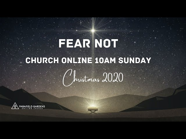 9:15am Live Worship 20 Dec 2020