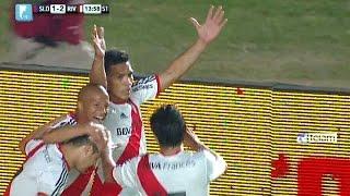 River jugó en gran nivel, derrotó a San Lorenzo y es el único puntero