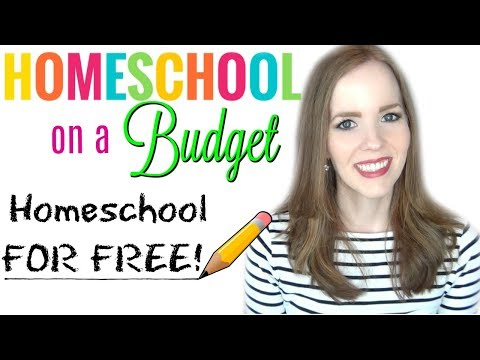 HOMESCHOOL FOR FREE!! | How to Homeschool on a Budget!