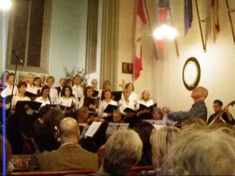 Mass In C  & Other Works - The Athens Singer Nov.'09.wmv