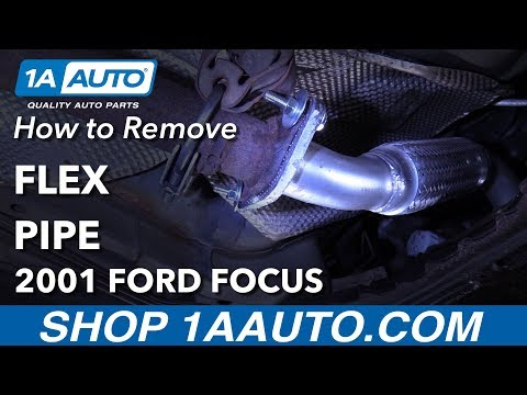 How To Replace Flex Pipe 00-04 Ford Focus