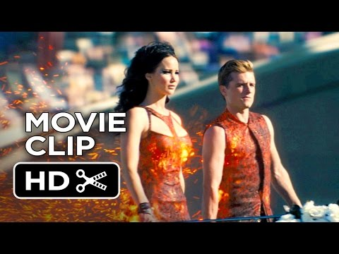 The Hunger Games: Catching Fire Movie CLIP #4 - Tribute Parade (2013) Movie HD