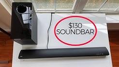 LG SH2 SoundBar Review Unboxing & Sound Test