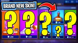 The BRAND NEW Daily Skin Items In Fortnite: Battle Royale! (Skin Reset #12)