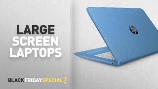 Чорна п'ятниця великих екрану ноутбука: HP потік 14-ax000na 14-дюймовий ноутбук HD (блакитний) - (Інтел