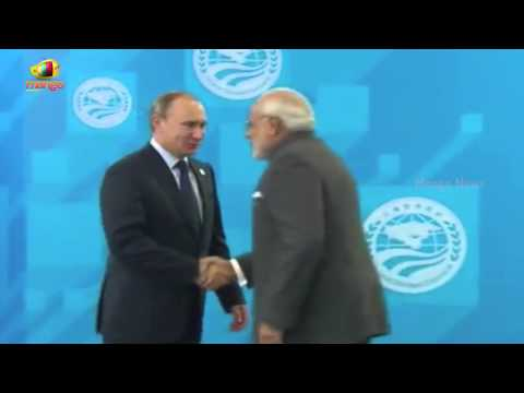 PM Narendra Modi arrives at SCO Summit | RUSSIA UFA 2015