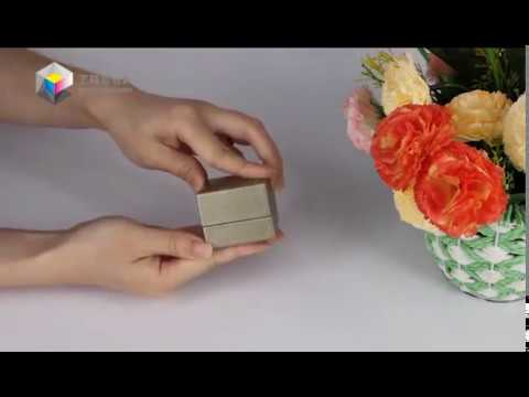 Yilucai Custom Made Ring Packaging Box Manufacturer Ring Boxes Supplier Factory