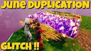 NEW *JUNE* Duplication Glitch !! *Not Clickbait* Fortnite Save The World