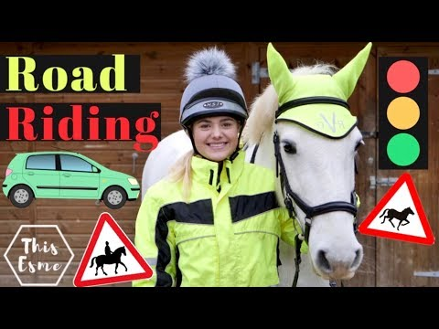 Riding Horses On The ROAD! | This Esme