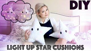 Diy: Star Lit Pillows Let's Get Lit Gifts